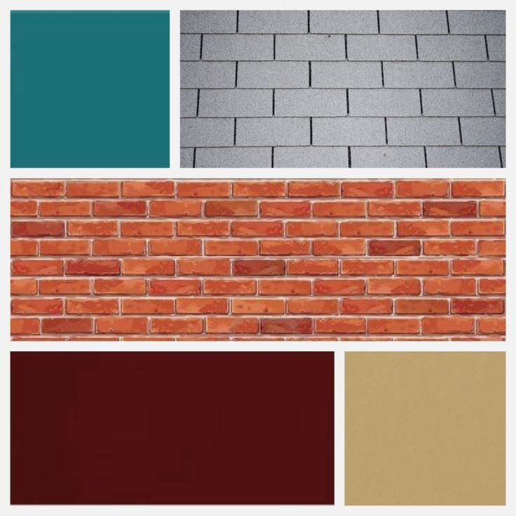 Exterior House Color Red Brick Grey Red Brick