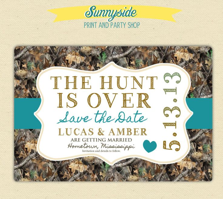 Fishing Theme Wedding Save The Dates
