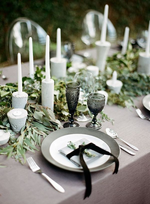 And Table White Black Ideas Setting