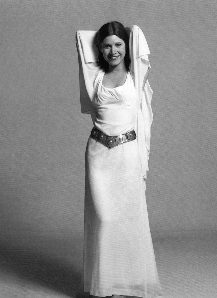Star Wars Natalie Portman White Dress