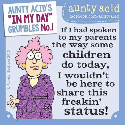 Arguing Auntie Funny Fools Quotes Acid