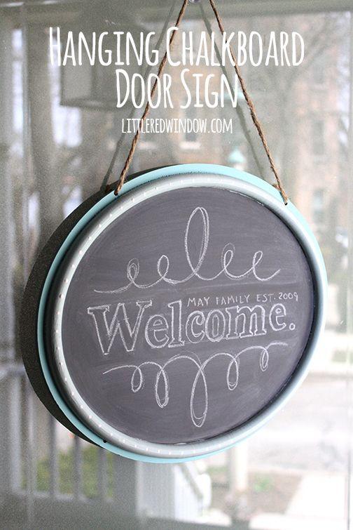 Wooden Door Hangers Pinterest