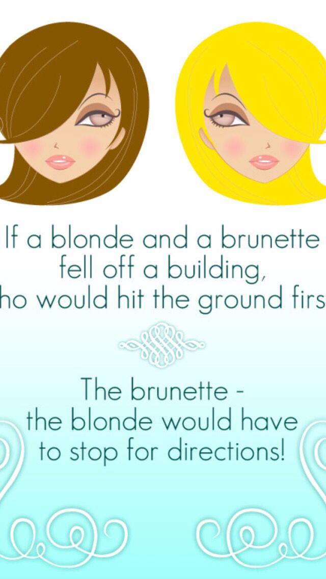 Dumb Blonde Jokes Short