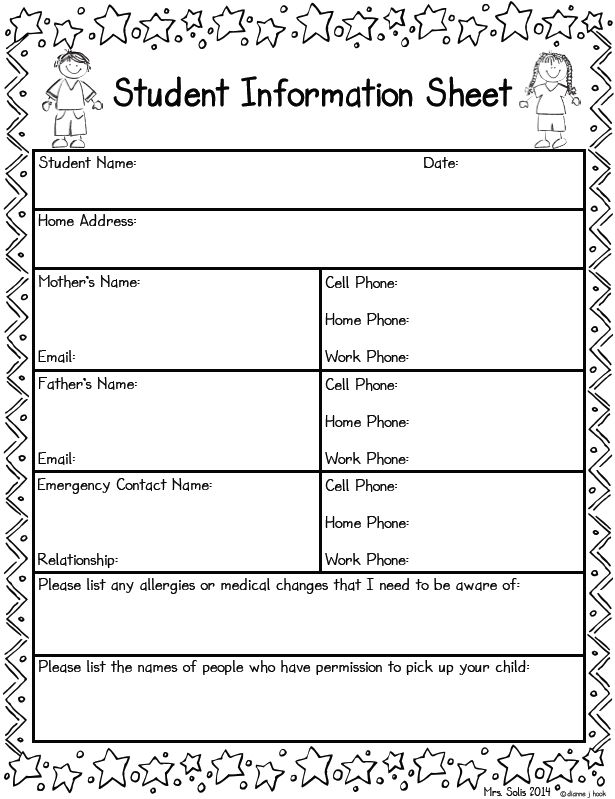 3rd Grade Reading Log Template