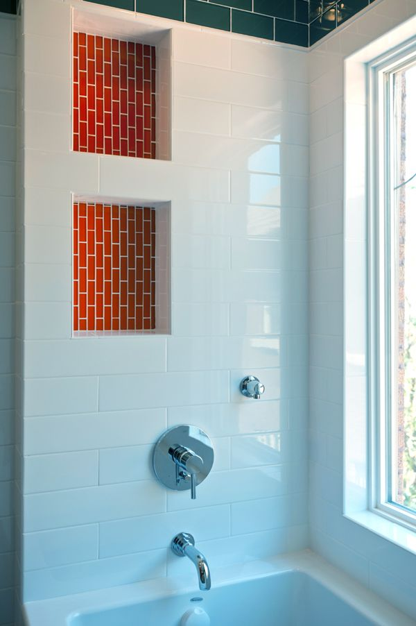 105 Best Home Niche For Bath Shower Tub Images On Pinterest