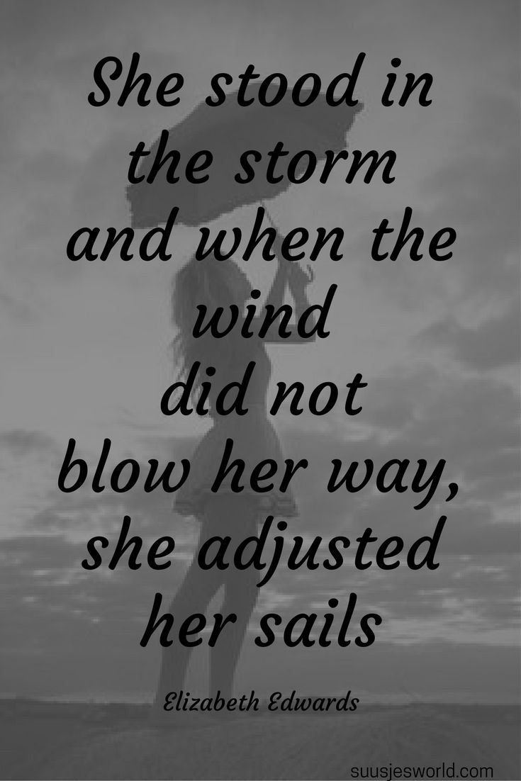 Storm Her And Adjusted Sails She Wind When Not She Stood Her Did Blow Away