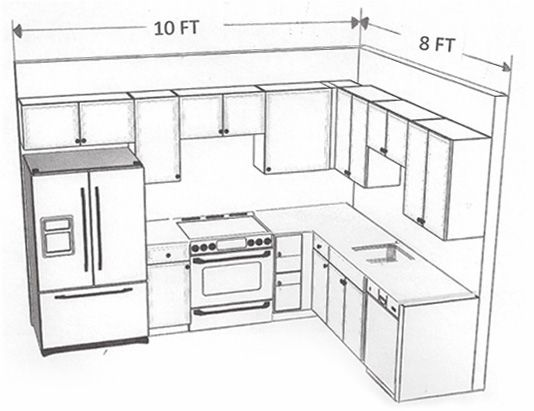 10 X 8 Kitchen Layout Google Search Similar Layout With