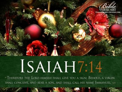 christmas scripture | Isaiah 7:14 - Immanuel Wallpaper ...