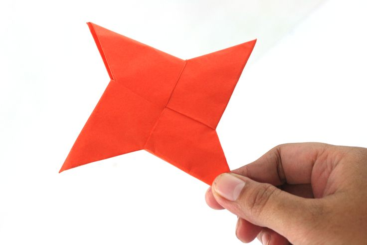 Origami Ninja Weapons Easy Steps
