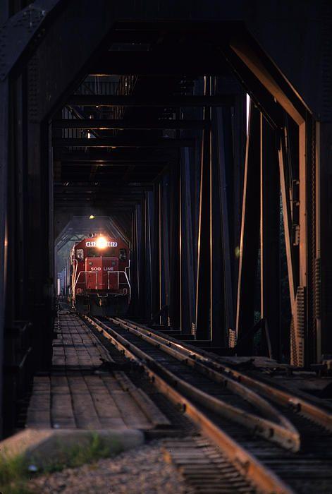 Walkways Over Train Tracks