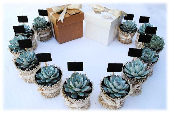 Burlap Wedding Invitation Kits