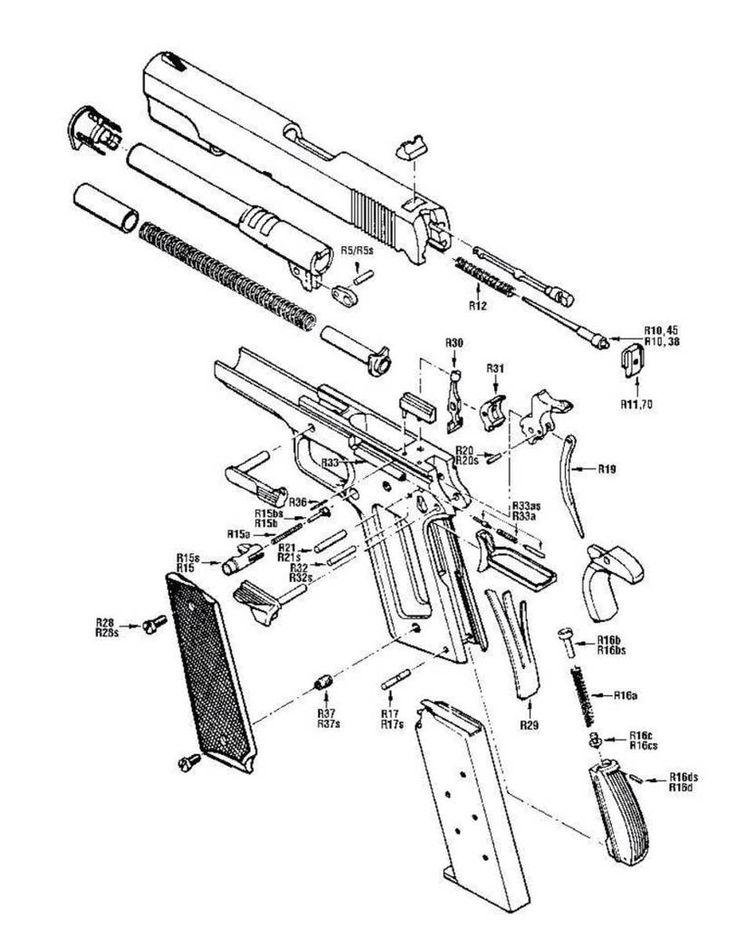 Kimber 1911 Trigger Schematic