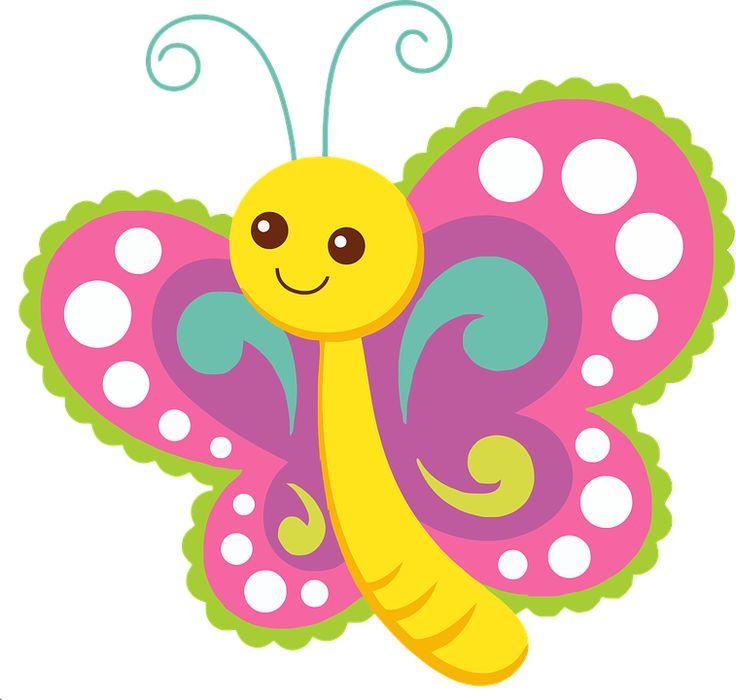 Animadas De Mariposas Brillantes Imagenes