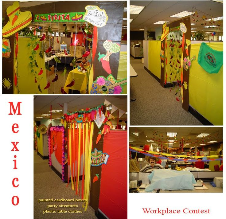 Cubicle Decorating Spring Ideas