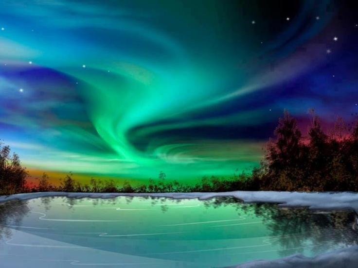 Northern Lights Anchorage Alaska