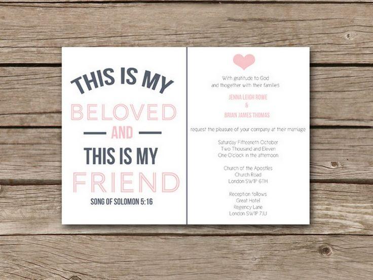 Top 10 Wedding Invitation Wording Friends