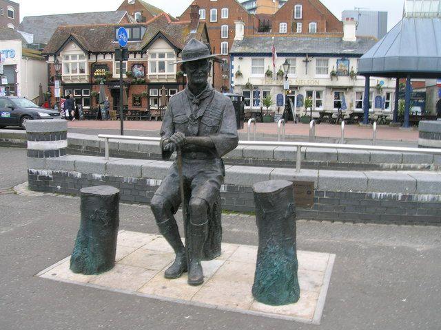 Baden Powell Grave Symbol