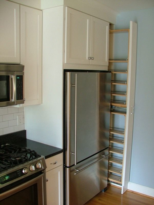 Small Kitchen Design Refrigerator