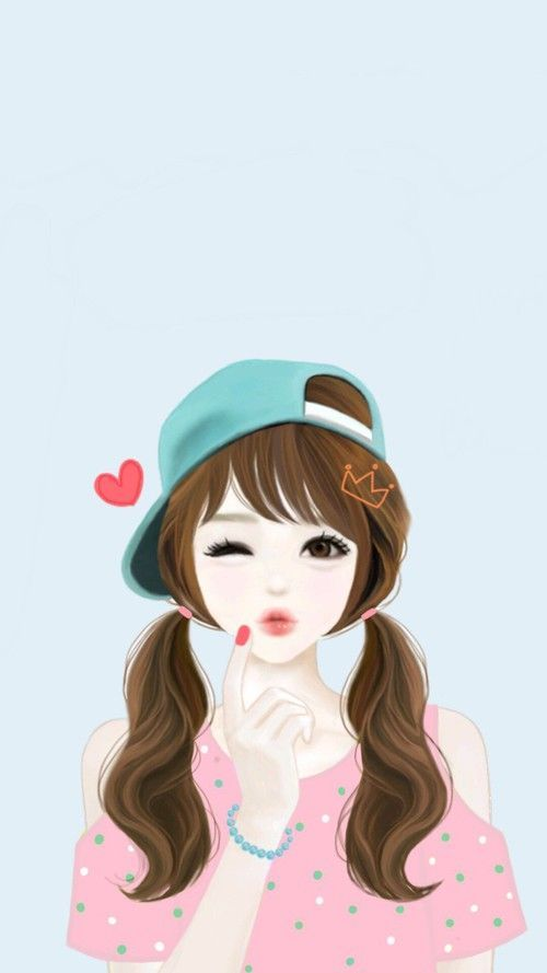 Cartoon Pictures Girls Profile Cute