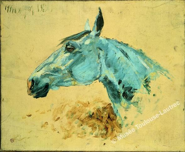 Toulouse Lautrec Horse Quot Gazelle Quot Classical Animal Art