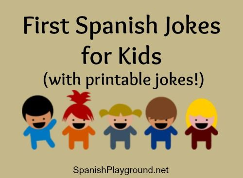 How Say Joke Spanish