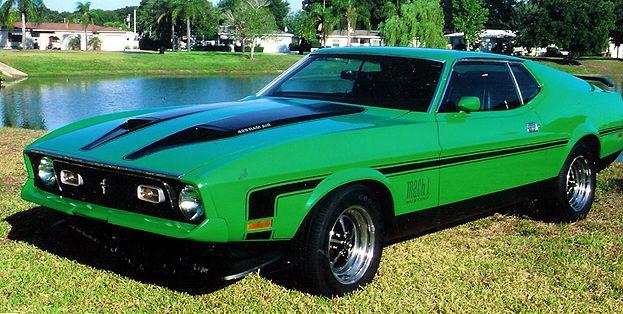 1971 Mach 1 Mustang 429 Scj