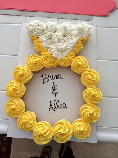 Baby Shower Pull Apart Cupcakes