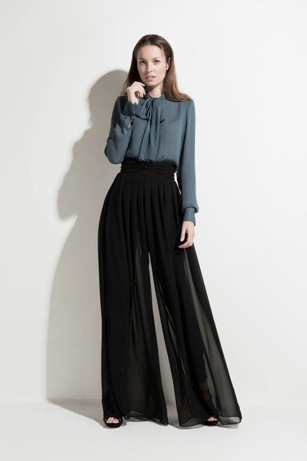 Pantalon De Mezclilla Blusas De Noche Y De Imagenes