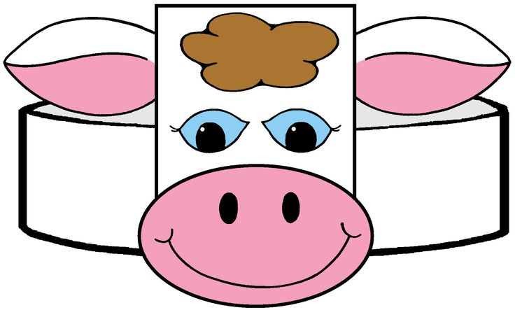 Pattern Template Sheep Ear
