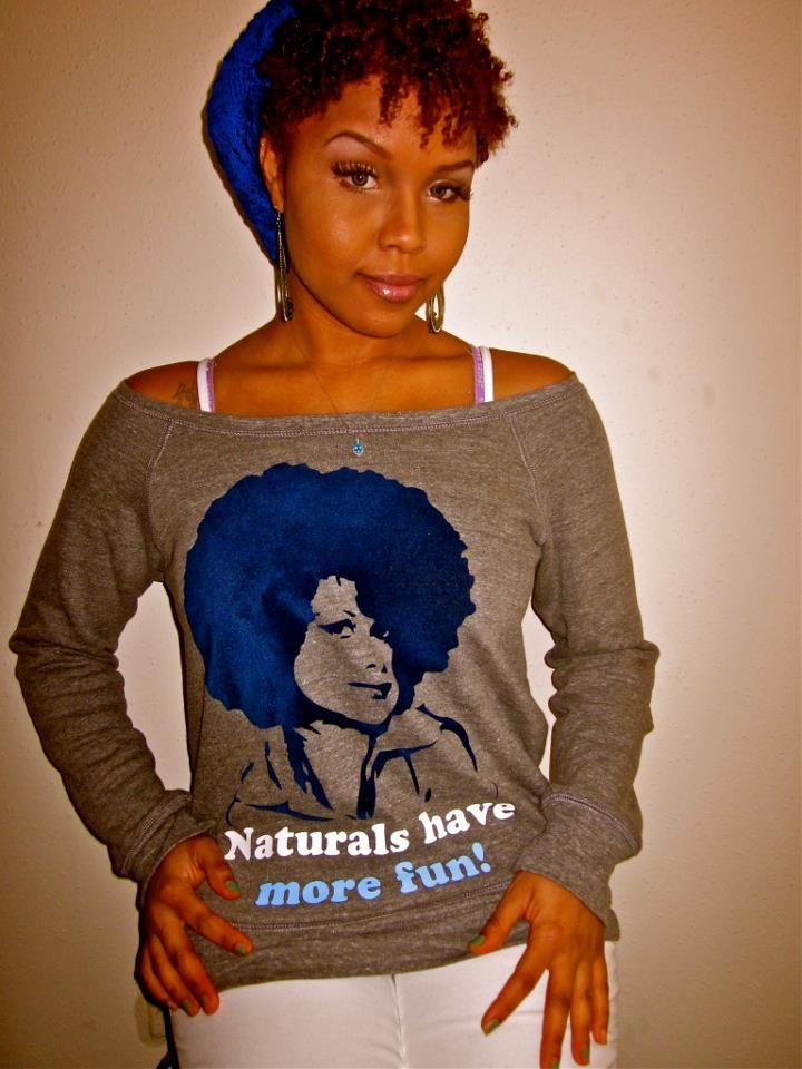 Shirts Rhinestones T Natural Hair