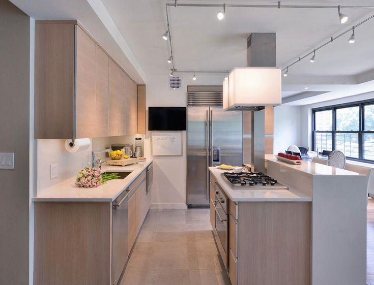 Narrow Galley Kitchen Designs