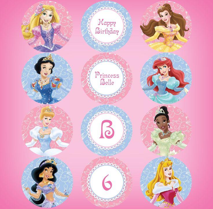 Princess 3 Belle Card Birthday