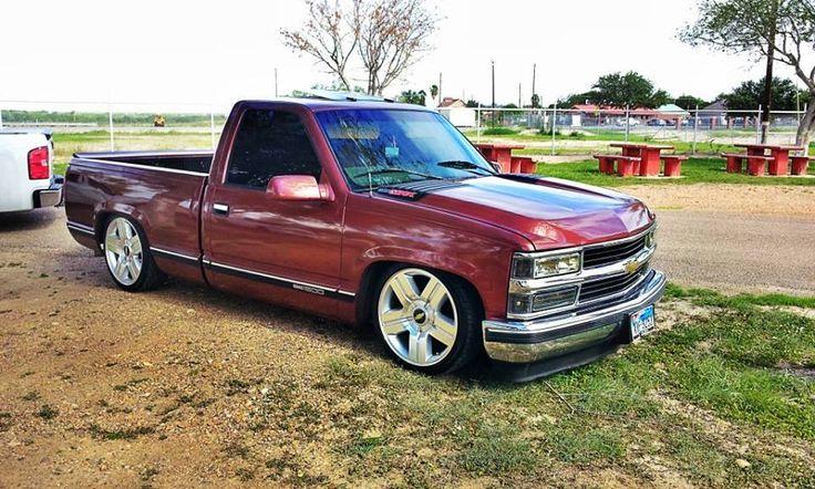 Pickup Custom Truck C1500 Chevy Black