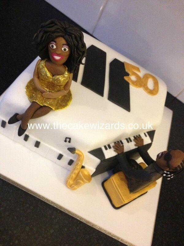 Motown Cake Diana Ross And Stevie Wonder Cakes