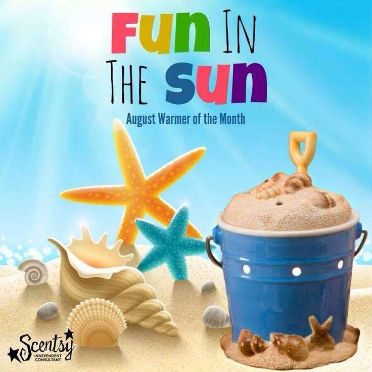 August Warmer Month