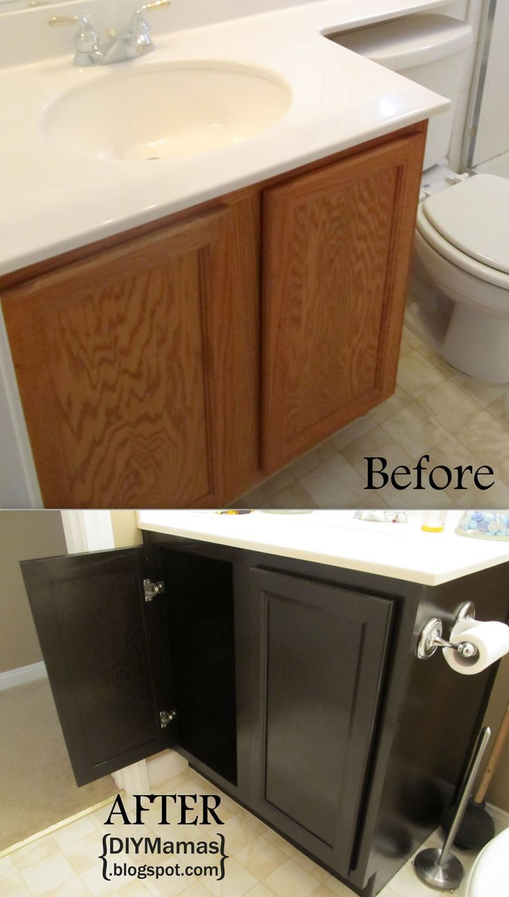 Diy Painting Bathroom Vanity
