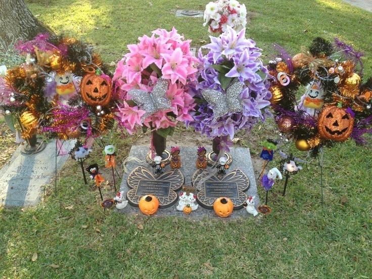 Grave Flower Arrangements Baby Boy