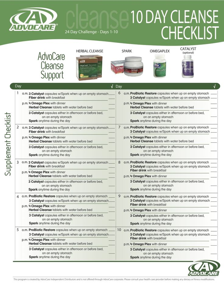 Advocare 10 Day Cleanse