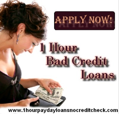 Borrow 1 Hour Bad Credit Loans Instantly ...