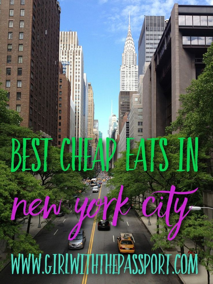 Cheap Places Eat New York