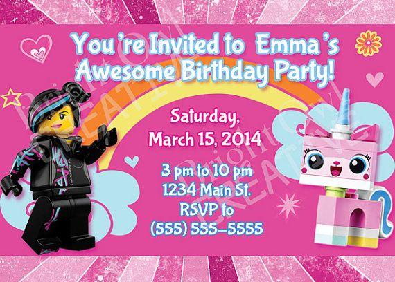 Birthday Invitations 7 Year Old