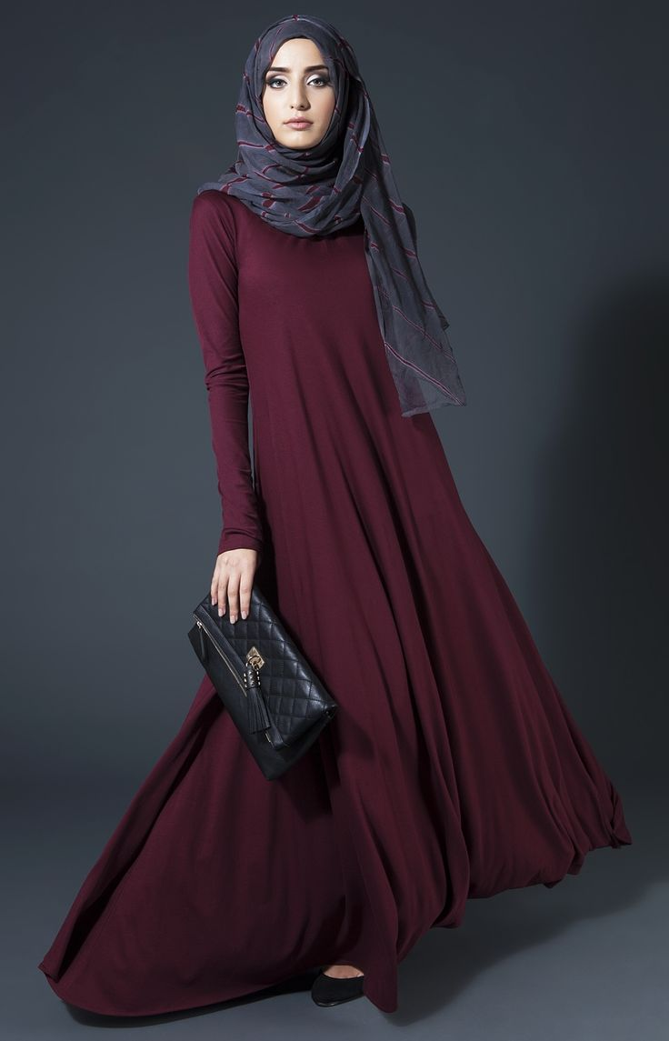 Mulberry Plum Abaya Aab Quotes Pinterest Beautiful Sleeve And Abayas