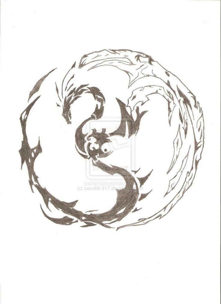 Yin Bird Tattoo Tiger Yang