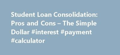 25+ best ideas about Student Loan Interest on Pinterest ...