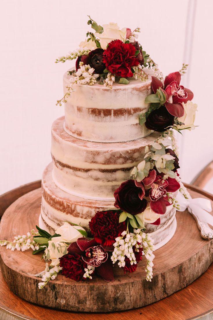 A Rustic Australian Bush Wedding Wedding Cakes And