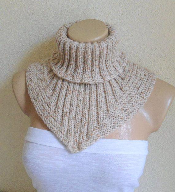 Knit Scarves With Hearts
