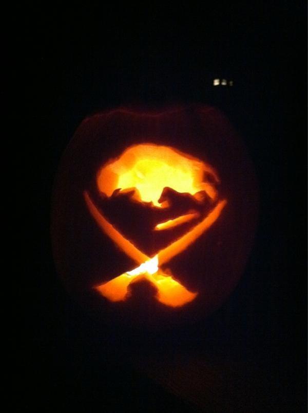 Boston Bruins Pumpkin Templates