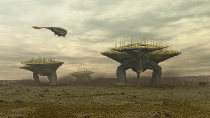 Alien Planet Darwin 4 Groveback