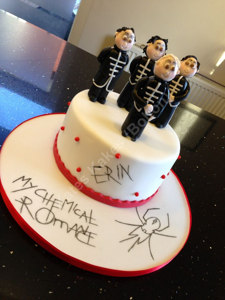 My Chemical Romance Cake Can I Please Have One
