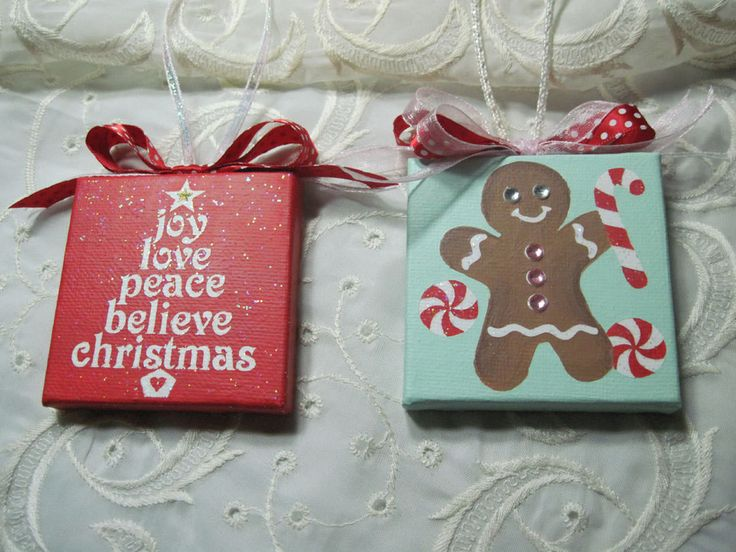 Stand Gingerbread Christmas Trees